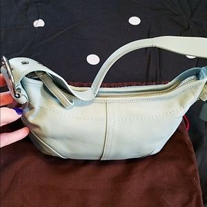 Coach mini bag / great condition w/ duster bag